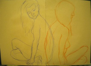 life drawing in manchester